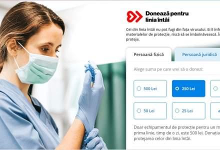 """Mobexpert, Banca Transilvania, Bitdefender și eMAG lansează platforma """"Donează pentru linia întâi"""""""