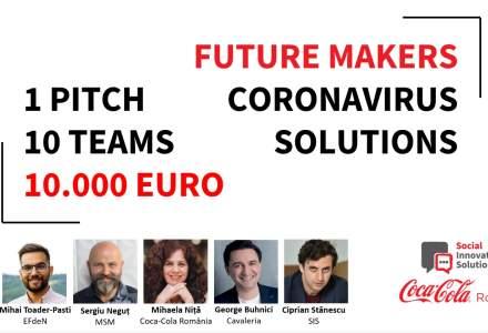 Pitch day: 10.000 euro pentru soluții la Coronavirus