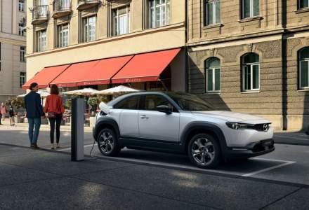 SUV-ul electric Mazda MX-30 vine cu 3 echipări și un preț de pornire de 33.490 euro cu TVA