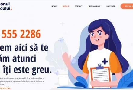 Cadrele medicale pot apela Telefonul Medicului pentru consiliere psihologică, suport juridic şi practic