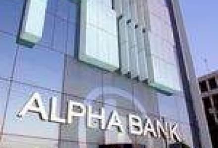 Alpha Bank va lua parte la planul guveramental de salvare de 28 mld. euro