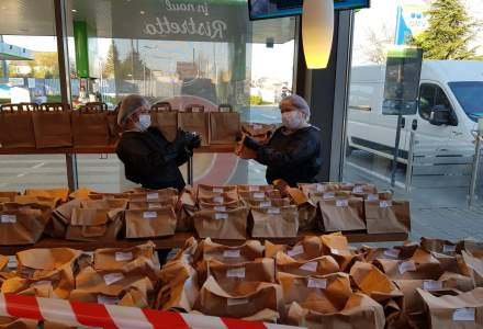 OMV Petrom în parteneriat cu Mastercard livrează către 5 spitale din București și Ploiești produse alimentare VIVA