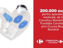 Carrefour donează 200.000 de...