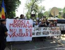 Protestul anti - Rosia...