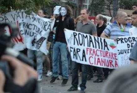 Actiunile Gabriel Resources au scazut puternic dupa protestele legate de Rosia Montana