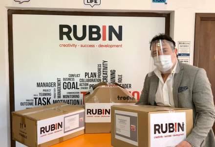 #scutpentruspitale Rubin 2000va produce 50.000 viziere pe care le va dona medicilor din prima linie