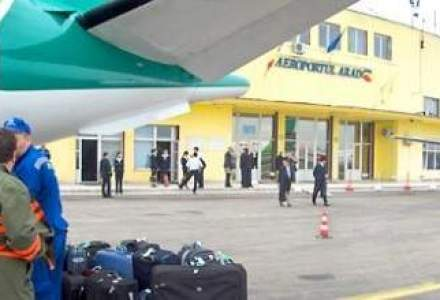 CJ Arad vrea un credit de 2,5 mil. euro pentru investitii in aeroport