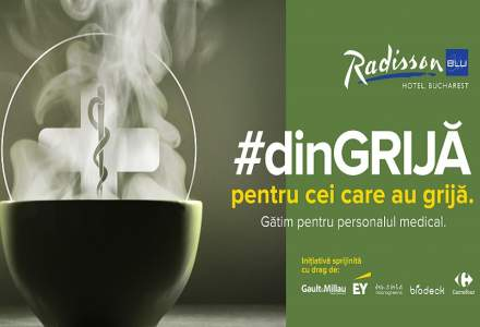 COVID-19 | Hotelul Radisson Blu din București donează peste 1.000 de piese de lenjerie către două spitale din București