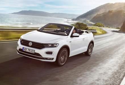 Volkswagen T-Roc Cabrio sosește în mai în România. Costă de la 24.700 euro