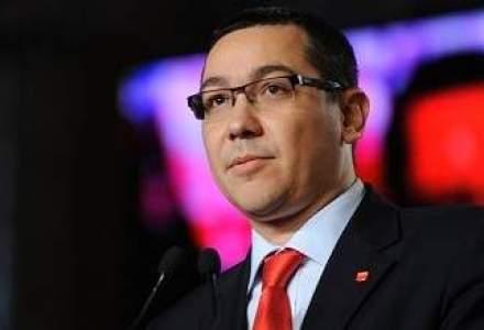 Ponta: Exploatarea resurselor energetice din Marea Neagra constituie o alternativa la Nabucco