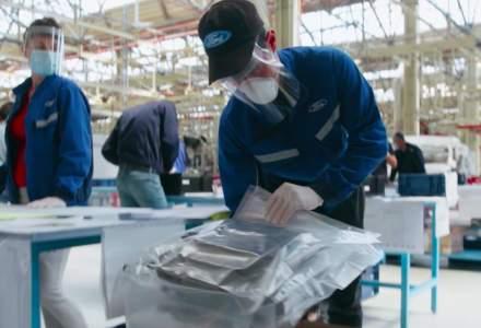 Timp de o lună, Ford Craiovaaprodus viziere în loc să producăvehicule și motoare