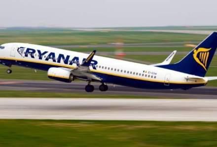 Ryanair lansează o nouă rută dinspre Marea Britanie spre București