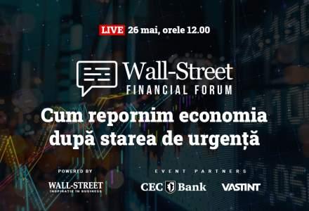 Cum repornim economia? Experții financiari răspund la Wall Street Financial Forum