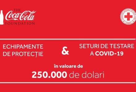 Fundația Coca-Cola a donat Crucii Roșii Române250.000 de dolari pentru echipamente de protecție și kit-uri de testare Covid-19