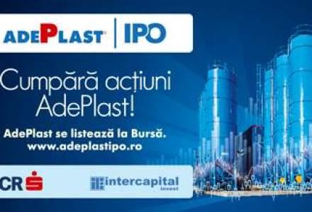 (P) Listarea AdePlast: Primul IPO al unei companii private din ultimii cinci ani!