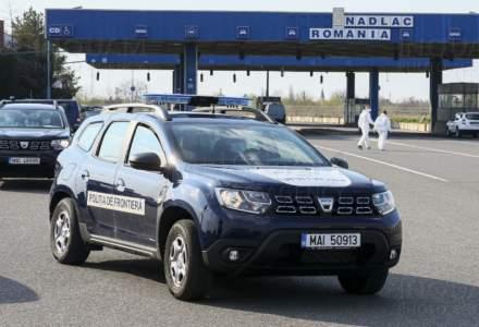 La frontiera Nădlac I se înregistrează în continuare timpi mari de aşteptare pentru intrarea în ţară