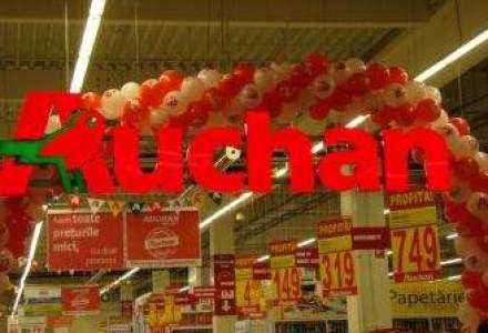 Cum arata primul hypermarket Real rebranduit in Auchan [GALERIE FOTO]