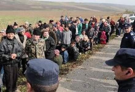 Peste 200 de persoane protesteaza la Silistea