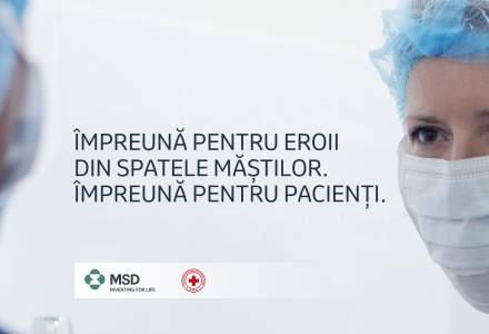 MSD România, lider în domeniul farmaceutic, donează jumătate de milion de lei către Crucea Roșie Română