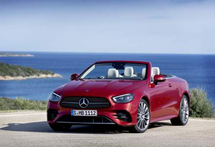 Mercedes-Benz Clasa E Coupe si Cabrio primesc motorizări mild-hybrid