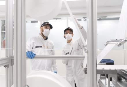 Coronavirus | Bosch pune în funcțiune o linie de producție pentru măști, complet automatizată