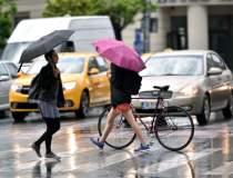 Vremea în Bucureşti: Averse,...