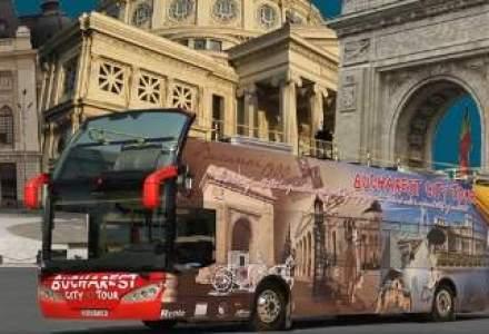"""Autobuzele liniei turistice """"Bucharest City Tour"""" se suspenda de la 1 noiembrie"""