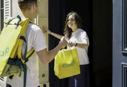 Glovo introduce în aplicație opțiunea de bacșiș pentru curieri