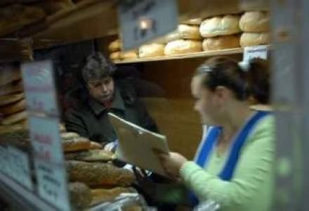 Rompan: Productia fiscalizata a crescut cu 15% la paine dupa reducerea TVA