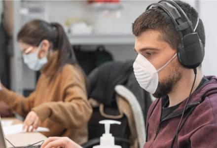 Coronavirus   A fost inventată masca ce se dezinfectează cu ajutorul telefonului mobil