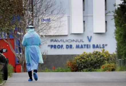 """Institutul """"Matei Balș"""" nu mai are loc pentru cazuri de COVID. NU se mai fac internări"""