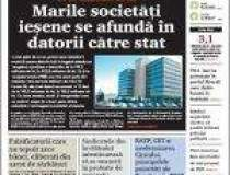 Din cauza crizei, ziarul...