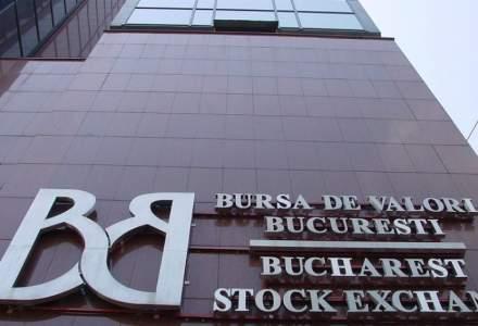 Bursa de la Bucureşti a pierdut peste 2 miliarde de lei din capitalizare în această săptămână