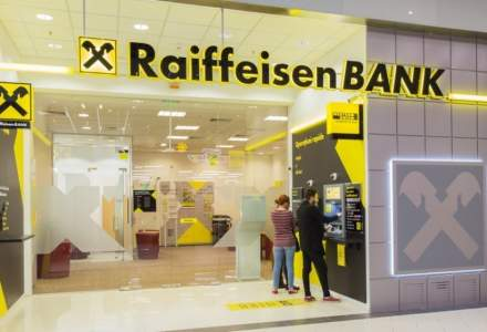 Raiffeisen Bank va oferi timp de 6 luni zero costuri pentru noii clienți care nu încasează lunar 2.000 de lei în conturile băncii