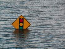 România sub ape | A fost emis...