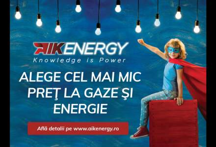 (P) Ambiția celui mai mare importator de gaze: AIK Energy invită consumatorii să aleagă cel mai mic preț cu ocazia liberalizării pieței