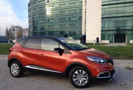Test Drive Wall-Street: Renault Captur, un smartphone pe roti, in doua culori