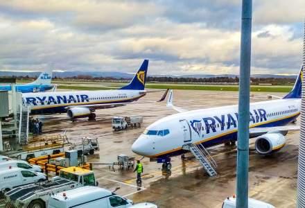 Alertă de incendiu într-o aeronavă Ryanair