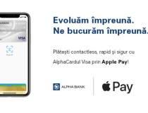 Alpha Bank lansează Apple...