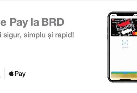 Apple Pay ajunge și la BRD. A treia bancă din sistem lansează portofelul digital la un an distanță de BT, ING Bank sau UniCredit
