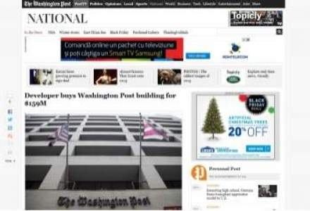 The Washington Post isi vinde sediul istoric. Suma: 159 milioane de dolari