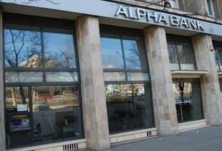 Pierderile Alpha Bank sunt in scadere: vezi bilantul bancii