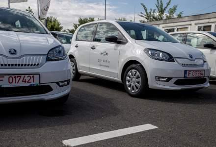 Spark își extinde flota în România și Bulgaria cu peste 200 de mașini electrice