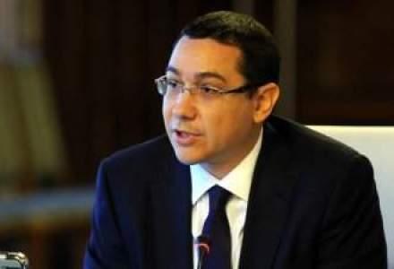 """Sunt probleme mari."" Premierul Victor Ponta spera ca bugetul sa intre in vigoare"