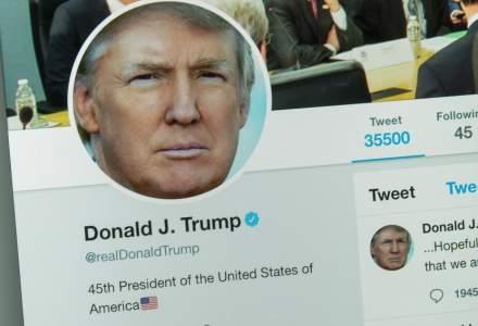 Twitter a șters o postare a președintelui Donald Trump