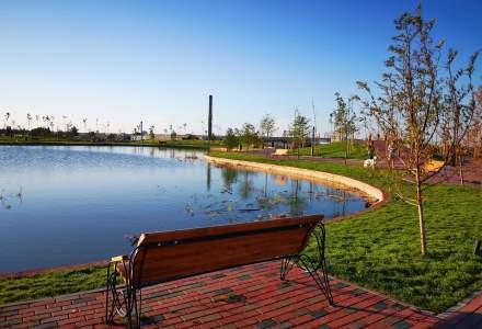 FOTO Cum arată cel mai nou parc din sectorul 3 al Capitalei, Parcul Teilor din Brățării
