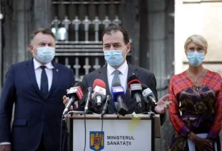 Ce spune Orban despre carantinarea anumitor zone din România și numărul de cazuri noi