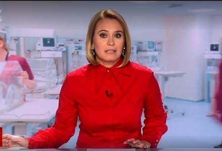 Andreea Esca a revenit la pupitrul știrilor ProTV, după absența cauzată de COVID-19