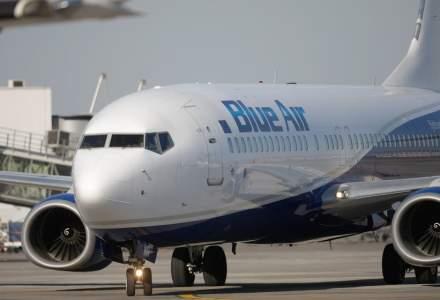Statul român ar putea prelua o parte din compania aeriană Blue Air