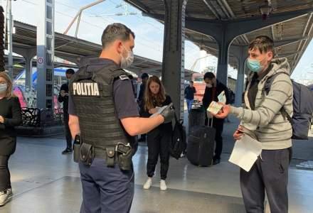 Controale la măști în mijloacele de transport în comun din București. De săptămâna viitoare, se vor da și amenzi